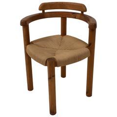 Stylish Mid-Century Modern Corner Chair in the Style of Rainer Daumiller, 1970s
