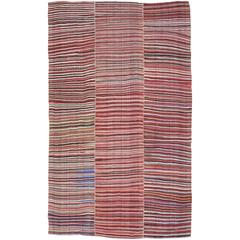 Striped Mazanderan Kilim