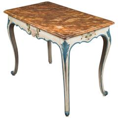 Painted Italian Console Table