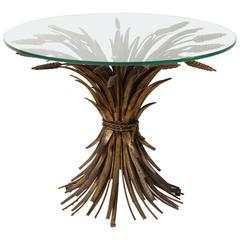 Sheaf of Wheat Occasional Table