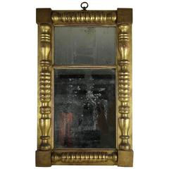 Philadelphia Gold Leaf Looking Glass, circa 1825