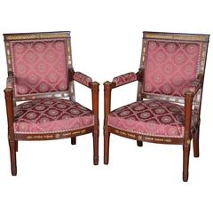 Pair of 19th Century Armchairs