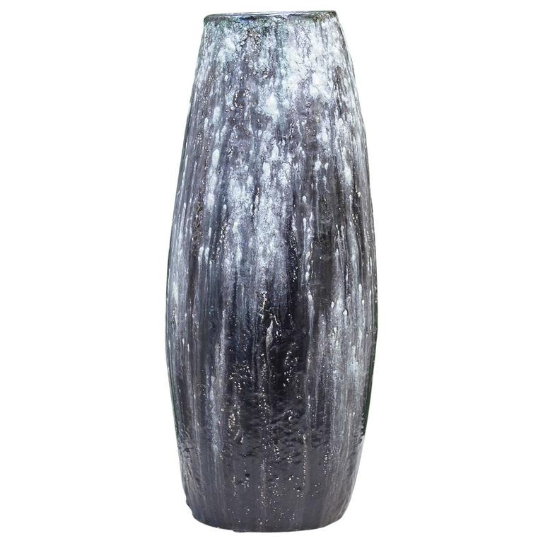 Helmut Schaeffenacker German Art Pottery Huge Ceramic Vase
