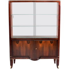 Andre Arbus Cabinet with Vitrine