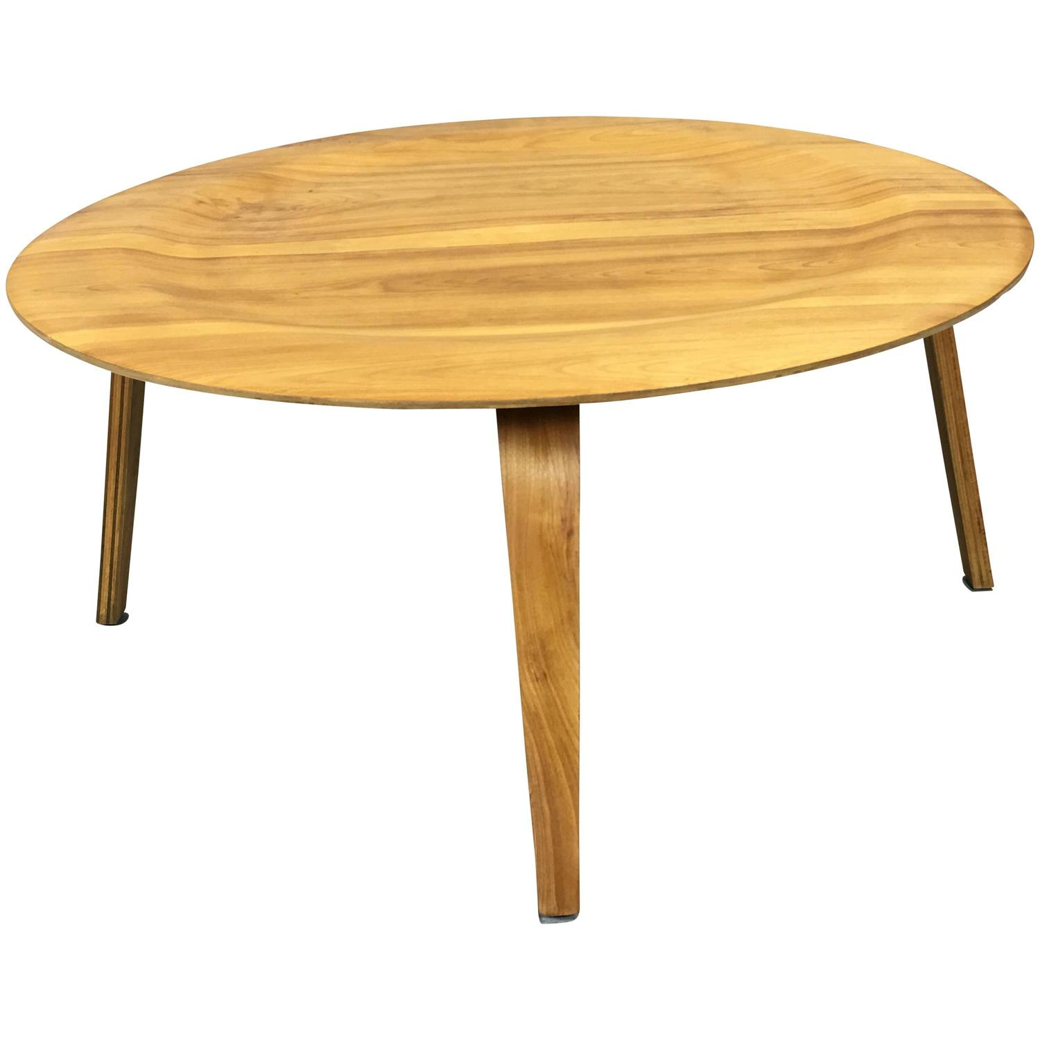 Evans Products Company Herman Miller Birch Coffee Table Circa 1946 For Sale At 1stdibs