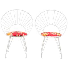Set of Six 'Desiree' Garden Chairs by Ingve Ekström
