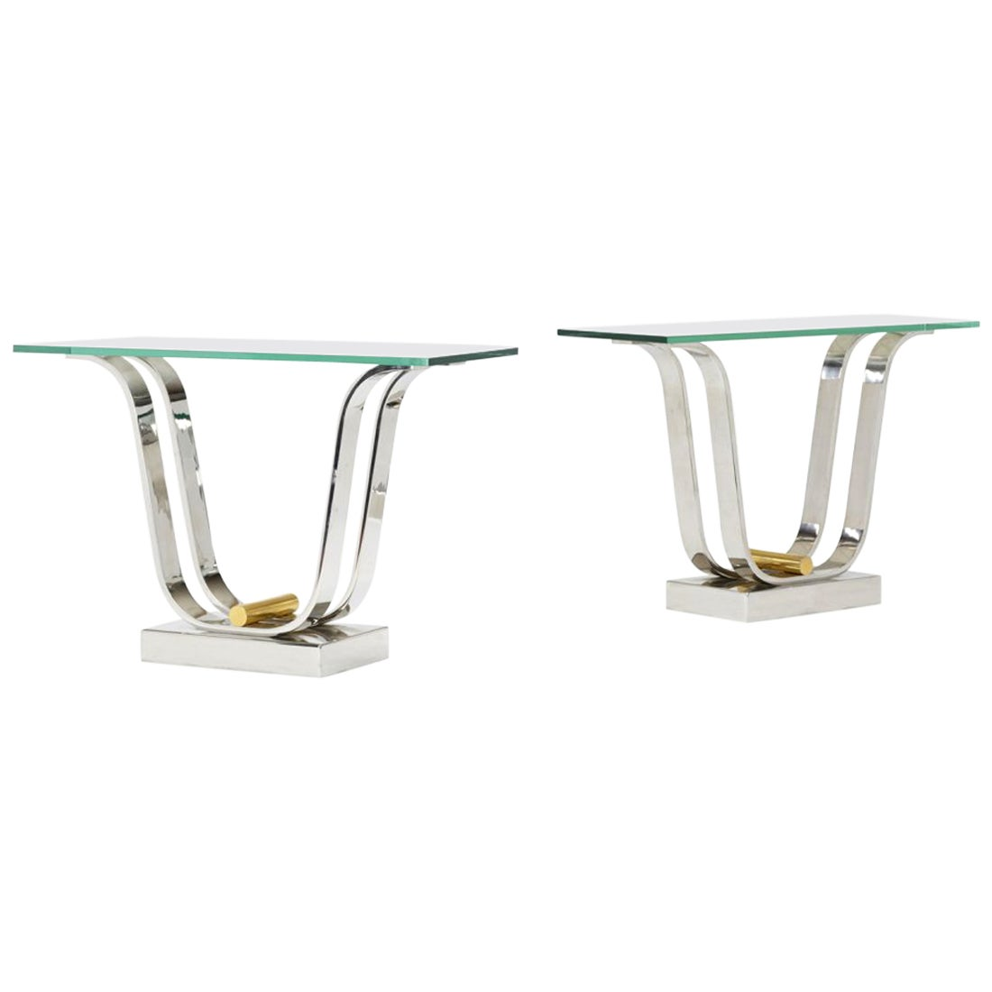 Karl Springer Console Dining Table