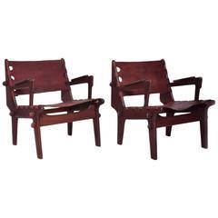 Pair of Safari Chairs by Angel Pazmino