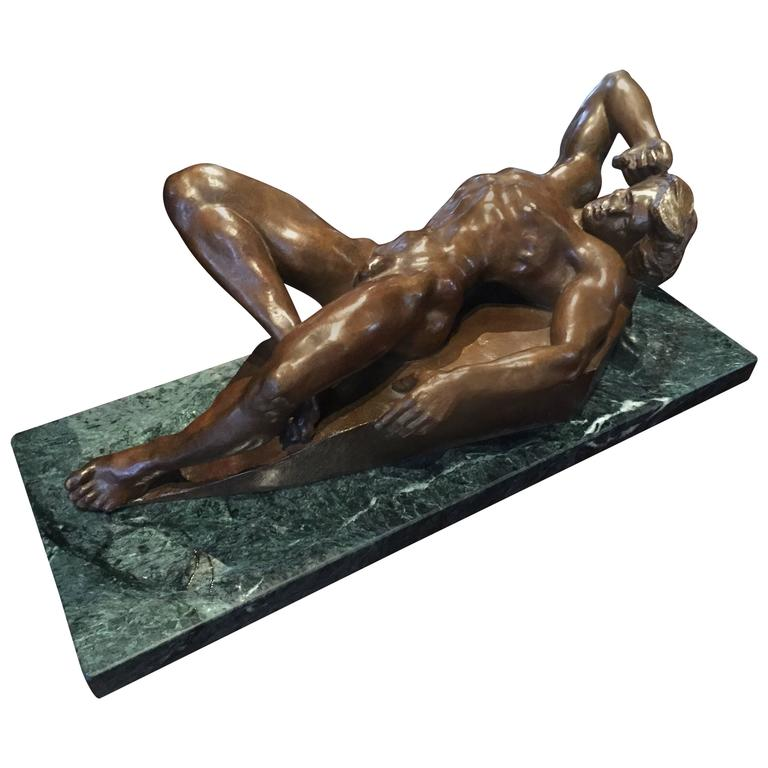 "Bronze Sculpture of ""Prometheus"""