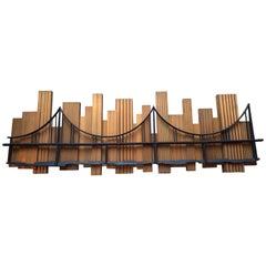 1969 Skyscraper Bridge Sculpture