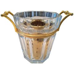 Vintage French Baccarat Champagne Bucket