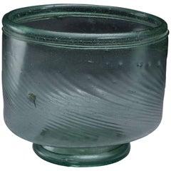 Rare Anglo Saxon Migration Period Glass Bowl Vessel