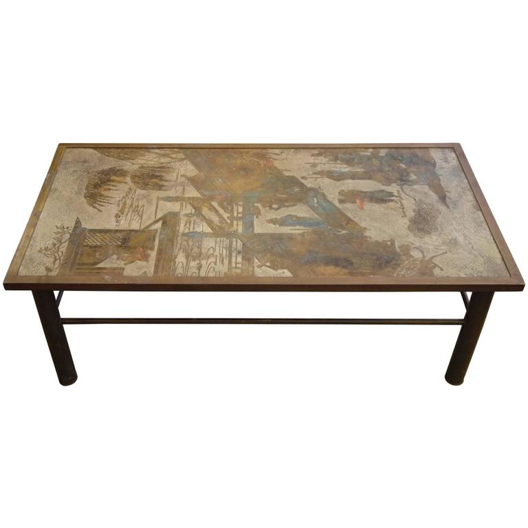 1970s Philip and Kelvin LaVerne Chan Coffee Table