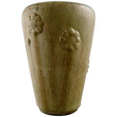 Arne Bang Pottery Vase, Denmark, 1940s