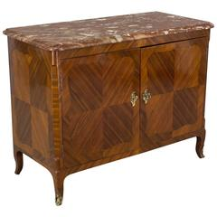 19th Century Louis XV Style Parisian Marquetry Buffet