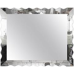 Vintage Mercury Glass Mirror