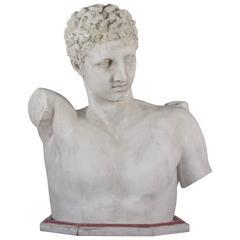 1940s Hermes Plaster Bust