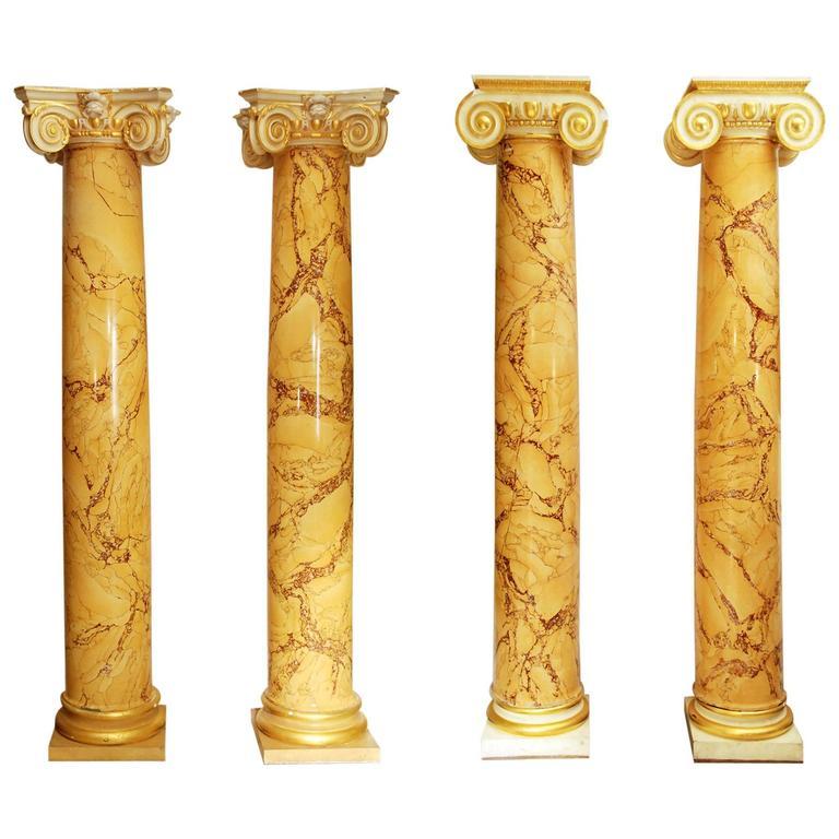 Prince Jefri of Brunei's Sienna Scagliola Columns