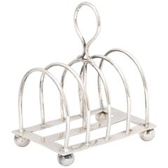 Victorian Sterling Silver Toast Rack