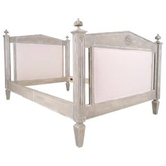 French 19th Century Empire Twin-Size Bed Frame