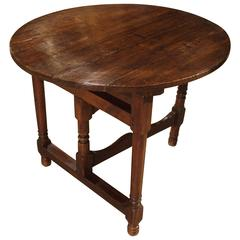 Small 18th Century Walnut Side Table from France