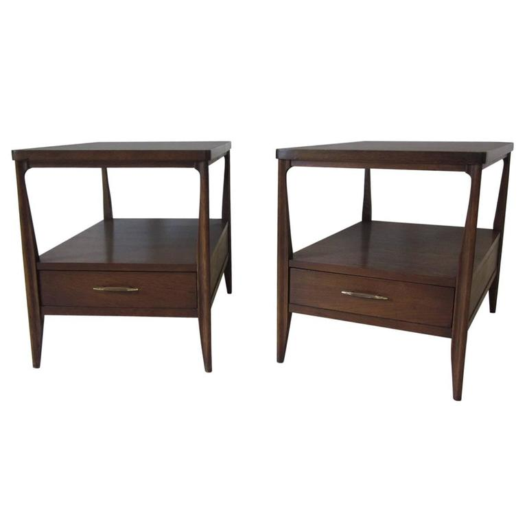 Mahogany Nightstands Or End Tables
