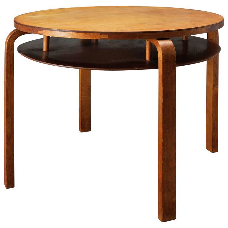 alvar aalto coffee table at 1stdibs. Black Bedroom Furniture Sets. Home Design Ideas