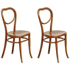 Pair of Thonet Chairs for Thonet, circa 1920