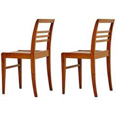Pair of Chairs by Rene Gabriel, circa 1940