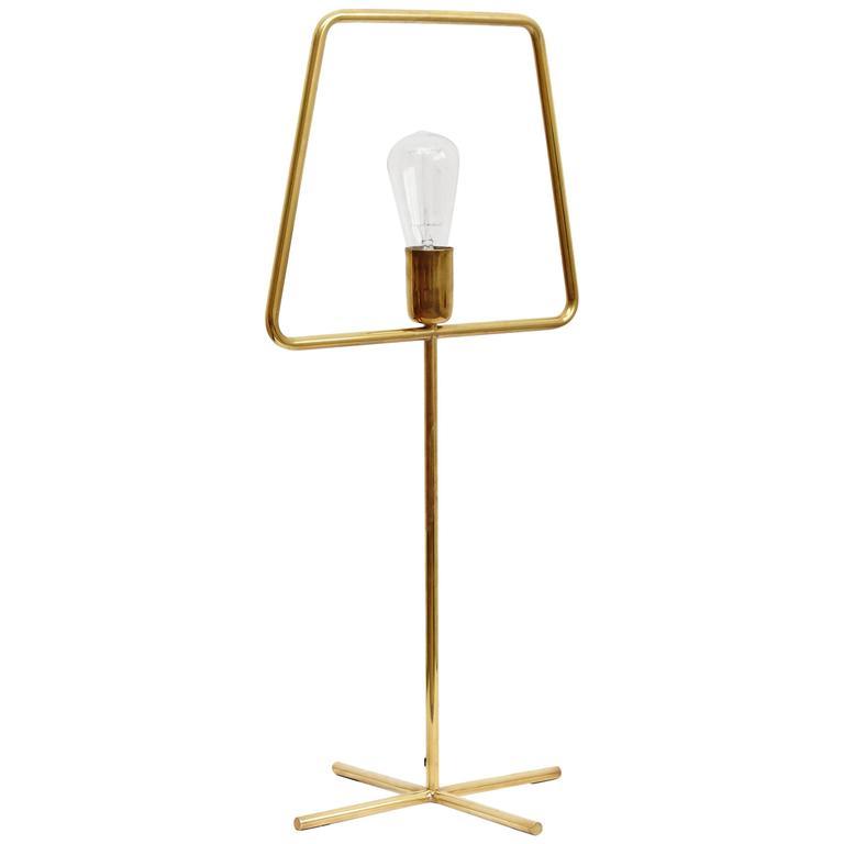 Adolfo Abejon 'Slim Brass' Lamp Prototype