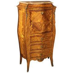 19th Century French Inlaid Secretaire