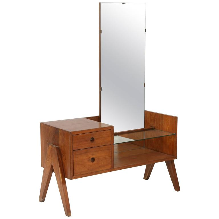"Pierre Jeanneret Rare Furniture Called ""Dressing Table"" For Sale"