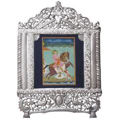 Indian Miniature Painting of Maharana Bhim Singh of Mewar