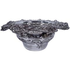 Beautiful Sterling Silver Centerpiece Bowl with Roses by JE Caldwell