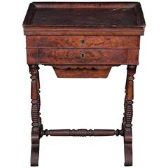 19th Century France Poudreuse Table