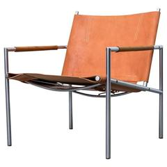 Martin Visser SZ01 Leather Lounge Chair