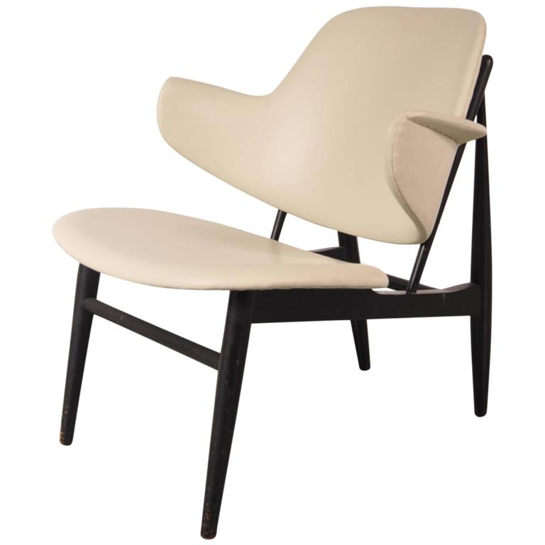 Shell Chair by Ib Kofod-Larsen for Christensen & Larsen, Denmark, circa 1950
