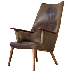 Lounge Chair by Has J. Wegner, Produced by A.P. Stolen