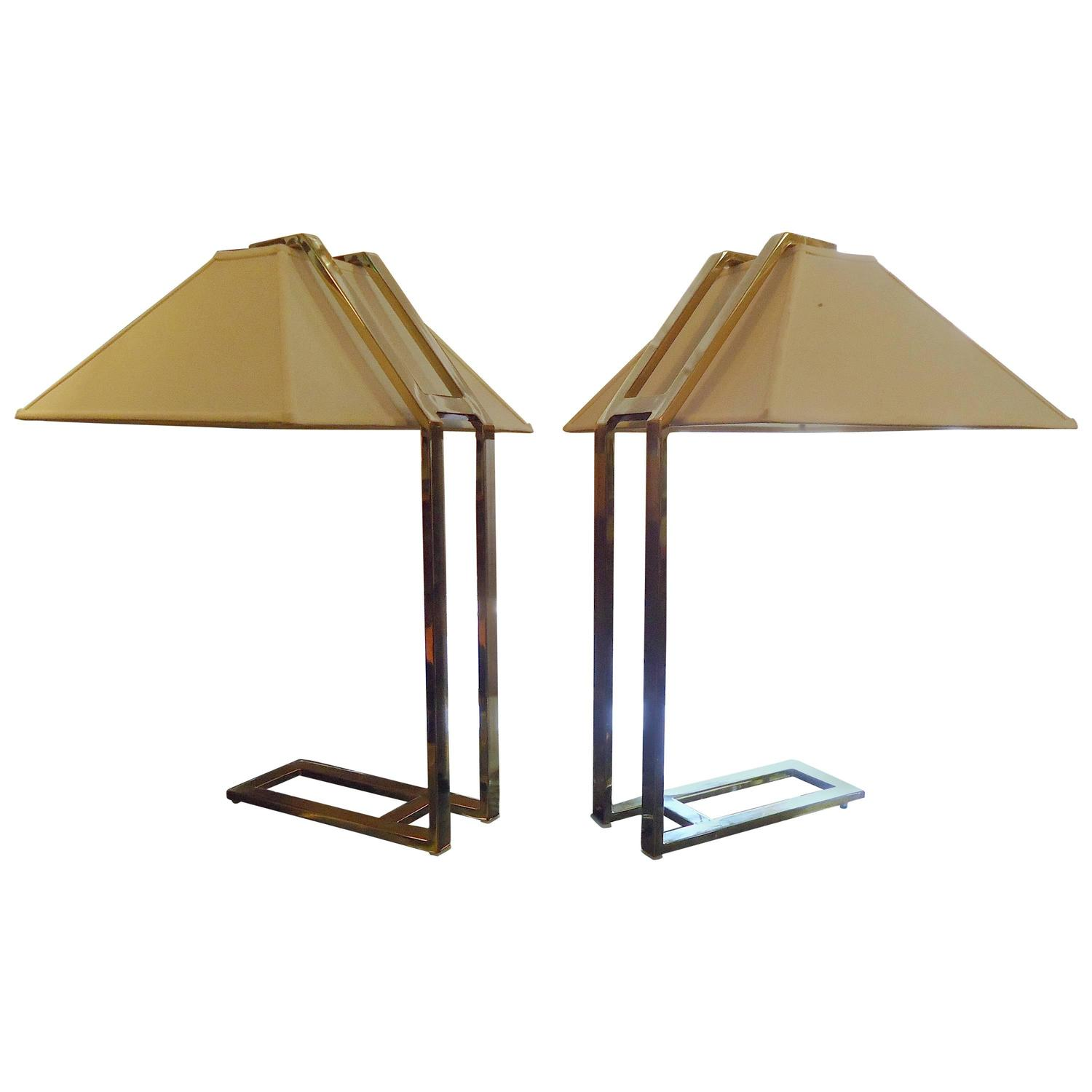 Unique Mid Century Brass Table Lamps For Sale At 1stdibs