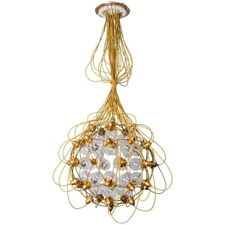"""The Birth Gold"" Lamp by Satoshi Itasaka 1"