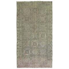 Distressed Shabby Chic Antique Khotan Samarkand Rug