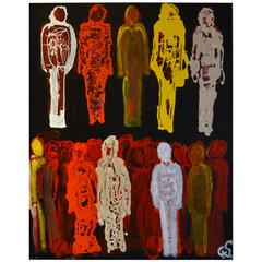 Abstract Figurative by Artist Christopher Shoemaker