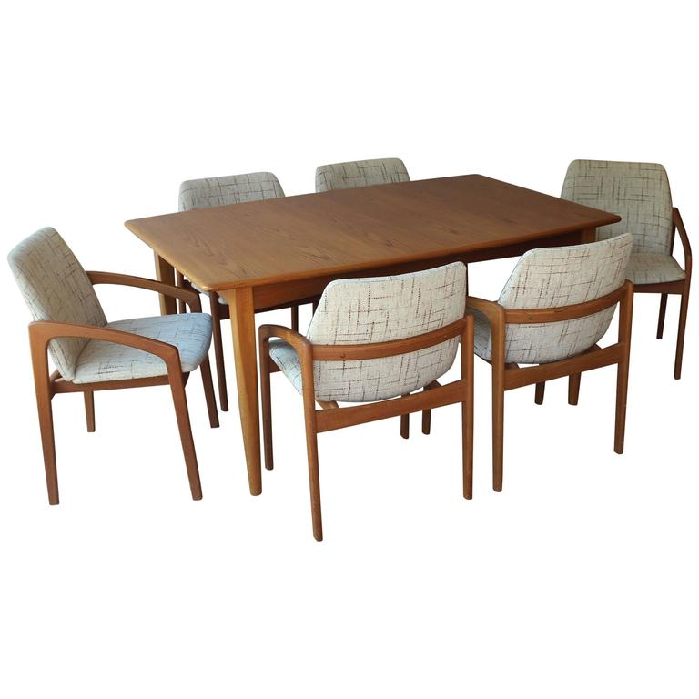 Kai Kristian Table and Chairs For Sale