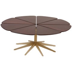 Richard Schultz Redwood Petal Coffee Table Made by Knoll