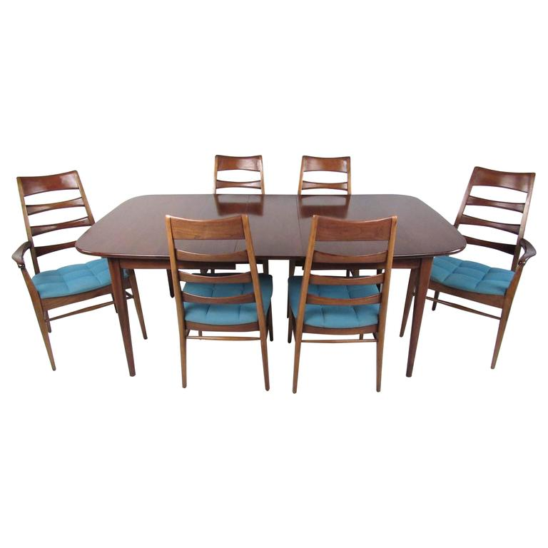 Mid Century Modern Dining Set: Mid-Century Modern Dining Set By Heywood Wakefield At 1stdibs