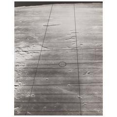 Lunar Orbiter Vintage Gelatin Silver Print