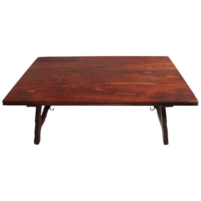 Early 20th Century Monumental Spanish Coffee Table For Sale At 1stdibs