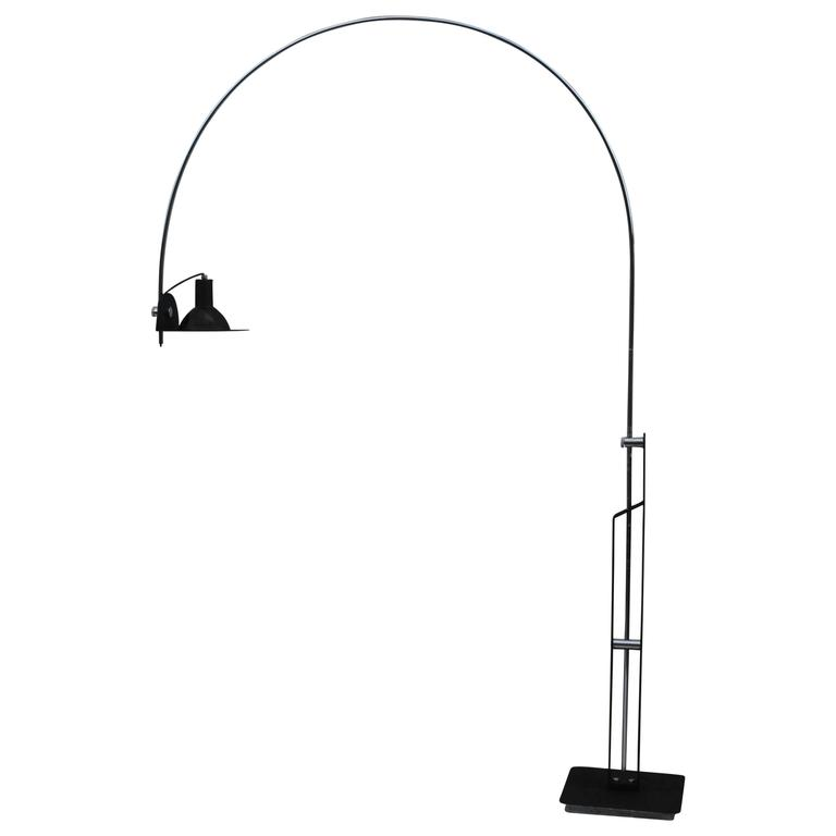 1960s Italian Arch Floor Lamp