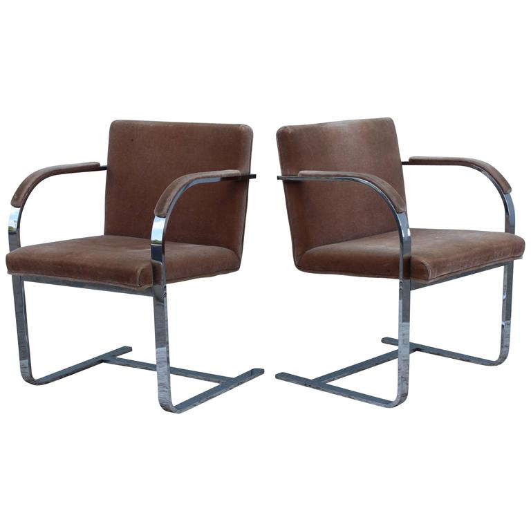 Mies Van Der Rohe For Thonet Chairs At 1stdibs