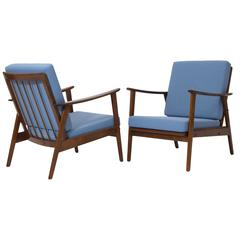 Pair of Mid-Century Modern Easy Chairs, Germany, 1960